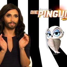 Conchita Wurst - Eva - über die Pinguine als Stars der Madagascar-Filme - Interview Poster