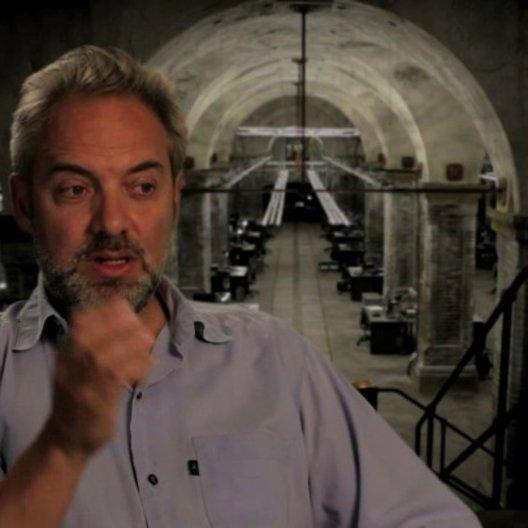 Sam Mendes über die Herausforderung einen BOND-Film zu machen - OV-Interview Poster