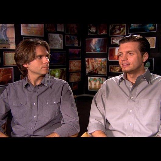 NATHAN GRENO und BYRON HOWARD - Regisseure / über den Humor im Film - OV-Interview Poster