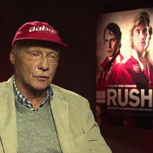 Niki Lauda über den Film - OV-Interview Poster
