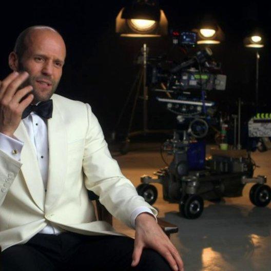 Jason Statham über die Arbeit mit Melissa McCarthy - OV-Interview