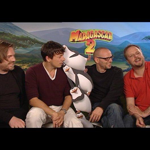 Die Fantastischen 4 über Pinguine - Interview