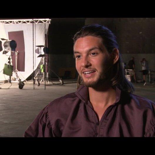 Ben Barnes über Will Poulter als Eustachius - OV-Interview