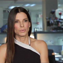 Sandra Bullock - Ashburn - über Ashburns Persönlichkeit - OV-Interview