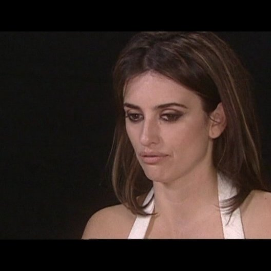 Interview mit Penélope Cruz (Maria Elena) - OV-Interview Poster