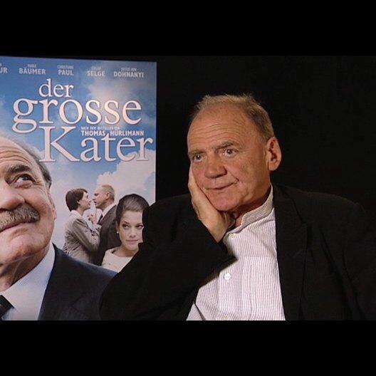 Bruno Ganz / Kater ueber die Beziehung des Kater zu seiner Frau - Interview