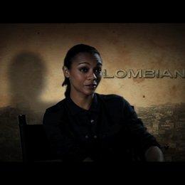 Zoe Saldana über den Film - OV-Interview Poster