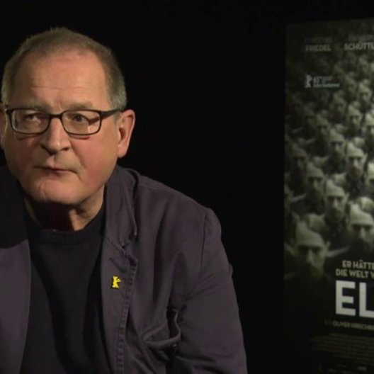 Burghart Klaussner (Arthur Nebe) über Elser als hellsichtiger Mensch, Märtyrer und Attentäter, über seinen Charakter Arthur Nebe, darüber, was den Zus
