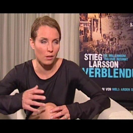 Noomi Rapace über Stieg Larson - OV-Interview