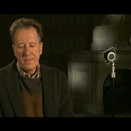 Geoffrey Rush (Lionel Logue) über die Beziehung zwischen King George VI und Lionel Logue - OV-Interview Poster