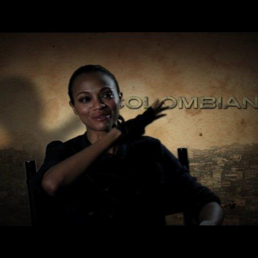 Zoe Saldana über die Herausforderungen bei den Dreharbeiten - OV-Interview Poster