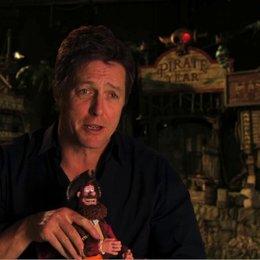 Hugh Grant über die Feinde des Piratenkapitaens - OV-Interview