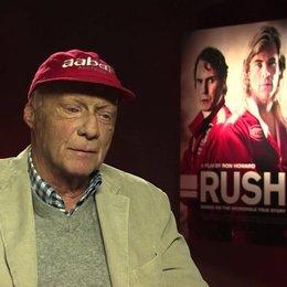 Niki Lauda über die wahre Geschichte und den Film - OV-Interview Poster