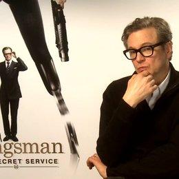 Colin Firth über den Prozess die Kirchenszene zu drehen - OV-Interview Poster