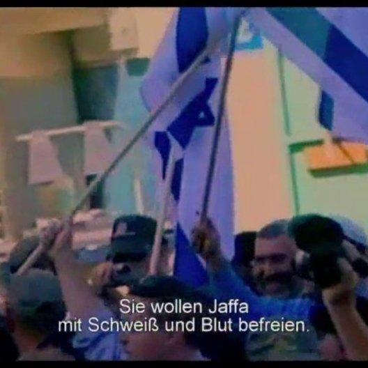 Demonstrationen in Jaffa - Szene