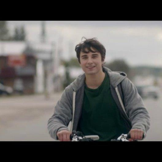 Fahrrad-Performance und Schlägerei - Szene
