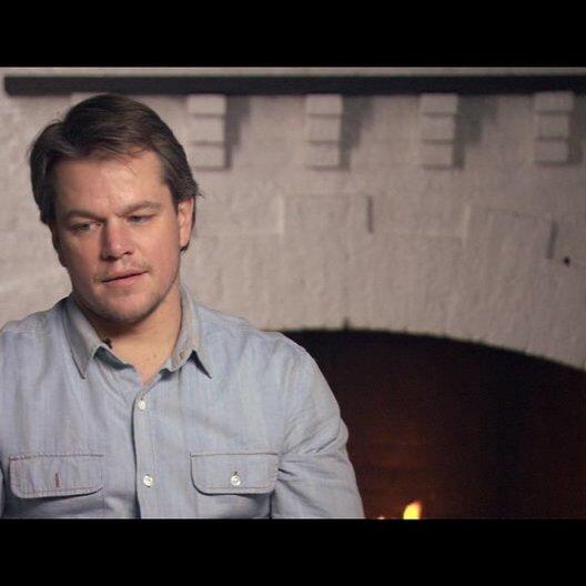 Matt Damoon (La Boeuf) über die Coen Brüder - OV-Interview Poster