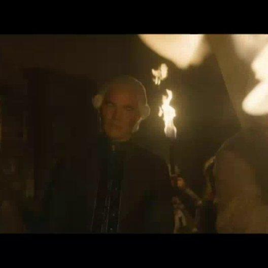 König Rufus wird von seinem zwielichtigen Bruder Badal und der Piratenbande um den Barschen Björn entführt - Szene