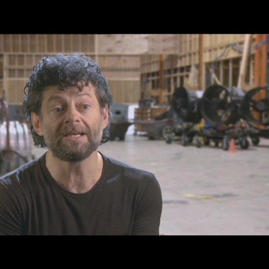 Andy Serkis (Caesar) über das was ihn an seiner Rolle so interessiert hat - OV-Interview Poster