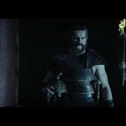 Hercules fordert Amphitryon zum Kampf auf - Szene