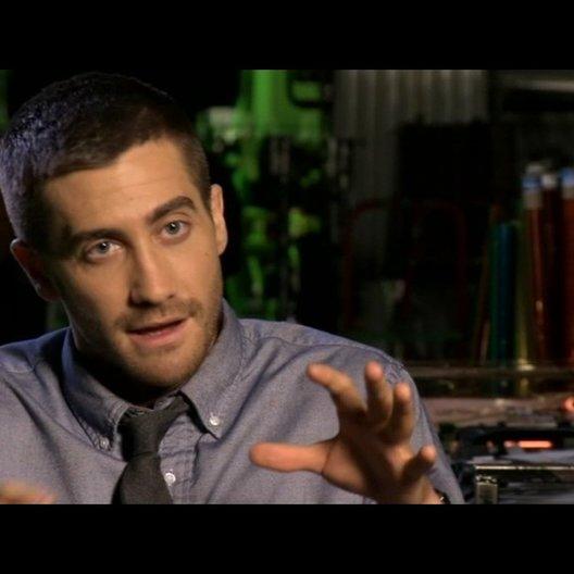 Jake Gyllenhaal (Colter Stevens) über seinen Spass beim Spielen in dem Film - OV-Interview Poster
