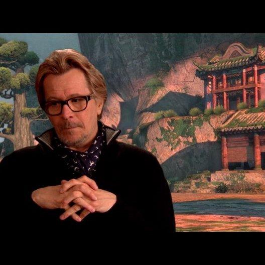 Gary Oldman (Originalstimme Lord Shen) über den Film - OV-Interview