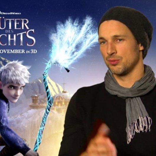 FLORIAN DAVID FITZ - Jack Frost - über die Faszination an seiner Rolle - Interview