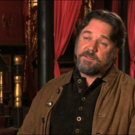 Russell Crowe über das Konzept des Films - OV-Interview