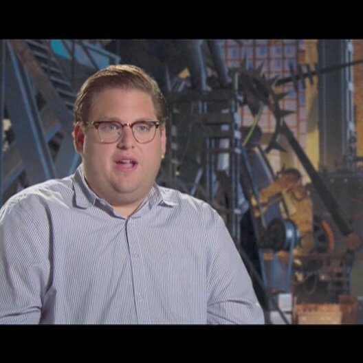 JONAH HILL / Original Stimme Hal -Tighten ueber den Look von Metro City - OV-Interview Poster