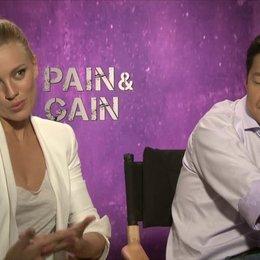 Bar Paly und Ken Jeong - Sorina Luminita und Johnny Wu - über die Rolle Sorina Luminita - OV-Interview Poster