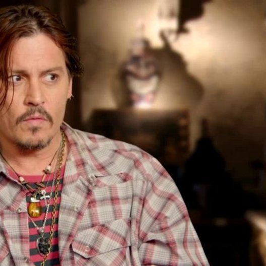 Johnny Depp - Mortdecai - über seine Rolle - OV-Interview