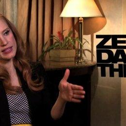 Jessica Chastain über die Wandlung von Maya Lambert - OV-Interview Poster