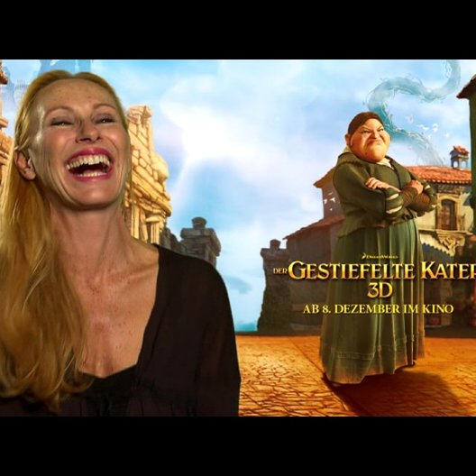Andrea Sawatzki - deutsche Stimme Jill - über Jills Lachen - Interview