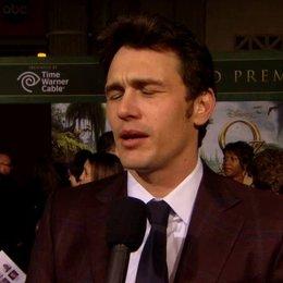 US Premiere - James Franco (Oz)  über seine Rolle - OV-Interview Poster