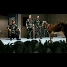 Männer, die auf Ziegen starren - Teaser