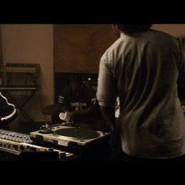Straight Outta Compton im Studio - Szene
