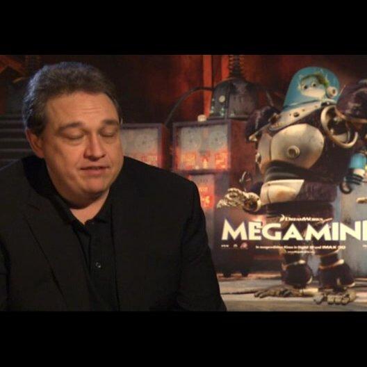 Oliver Kalkofe (deutsche Stimme Minion) warum Megamind ein Film für alle Altersgruppen ist - Interview