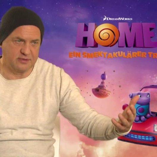 Uwe Ochsenknecht - Captain Smek - über Caotain Smek auf der Erde - Interview Poster