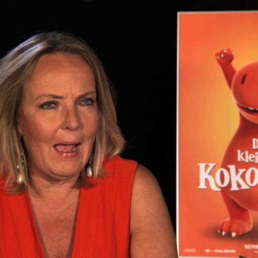 Gabriele Walther über Kokosnuss und die Drachen - Interview Poster