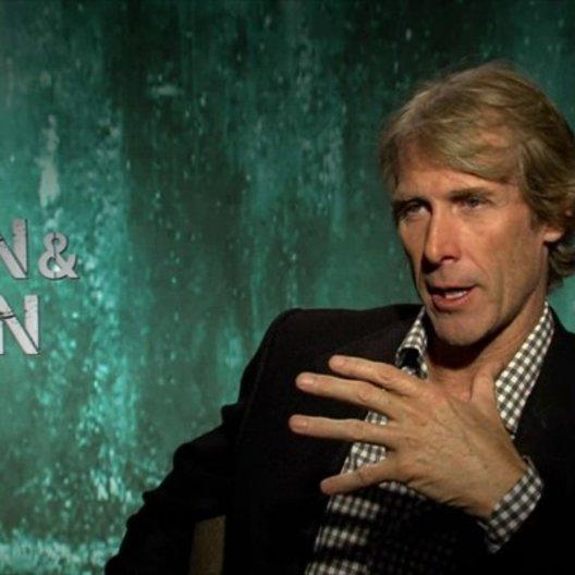 Michael Bay - Regisseur - über die Arbeit mit den Schauspielern - OV-Interview Poster