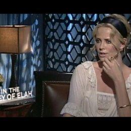 Interview mit Charlize Theron ( Det. Emily Sanders ) - OV-Interview
