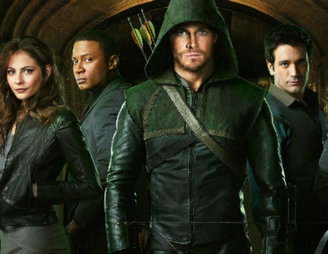 Arrow Staffel 4 Gruppe