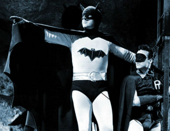 Batman-Filme Reihenfolge - Batman und Robin 1949