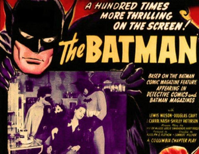 Batman Filme Reihenfolge   Batman und Robin 1943