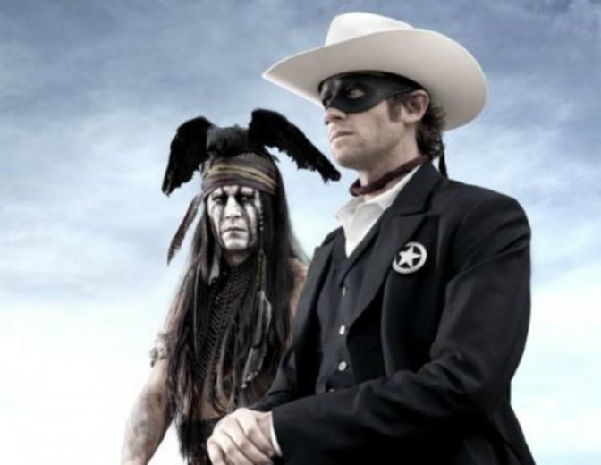 Lone Ranger Johnny Depp Armie Hammer