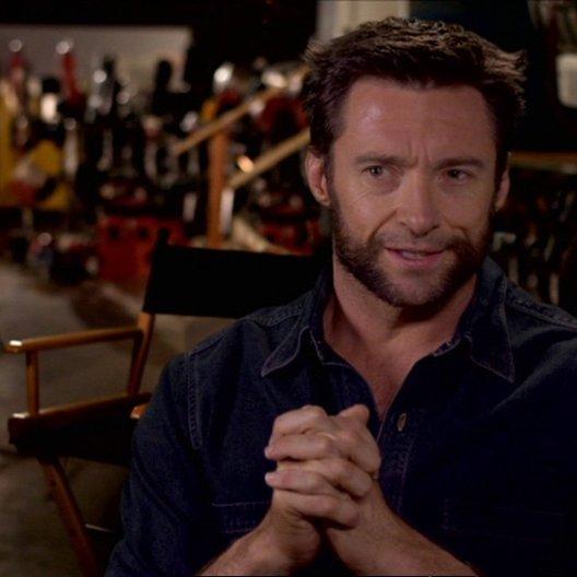 Logan über Wolverine als Strassenkämpfer - OV-Interview Poster
