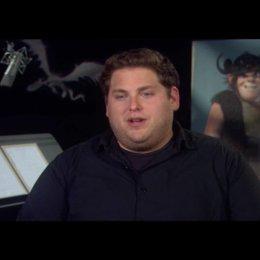 """JONAH HILL - """"Rotzbakke"""" (Original-Stimme) über seine Rolle - OV-Interview"""