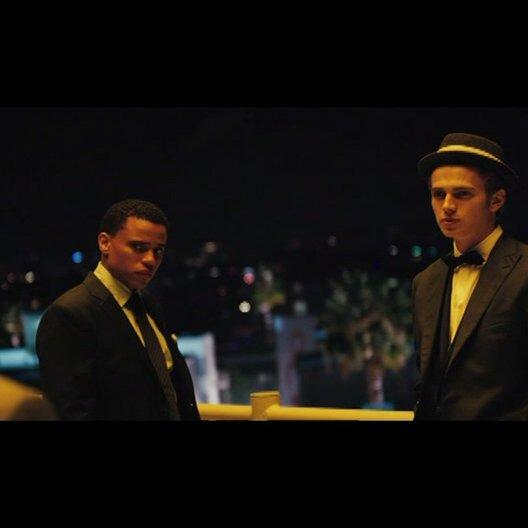 Bone Deep (Takers) - OV-Trailer Poster