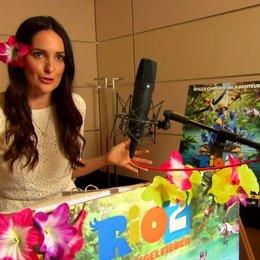 Johanna Klum - Jewel - über die Synchronaufnahmen - Interview