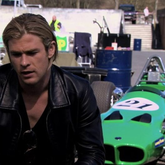 Chris Hemsworth -James Hunt-über den Film - OV-Interview Poster